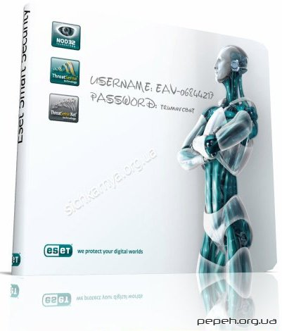 Нові ключі для Nod32 ESET Smart Security 2, 3, 4