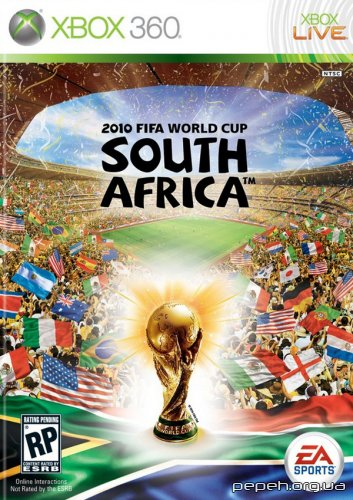 FIFA World Cup 2010 South Africa (2010/ENG/XBOX360) - гра сьогодні вийшла!