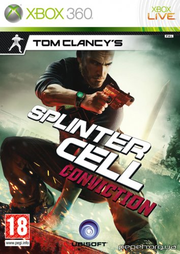 Tom Clancy's Splinter Cell: Conviction (2010/ENG/XBOX360)