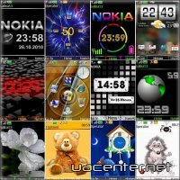 Wonderful theme for Nokia S40 Pack 10