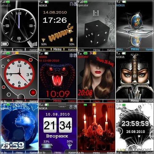 Wonderful theme for Nokia S40 Pack 12