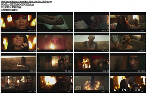 Eminem ft. Rihanna - Love The Way You Lie (2010) WEBRip 1080p