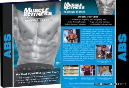 Як правильно накачати прес / Muscle & Fitness Training System - ABS (2006/DVDRip)