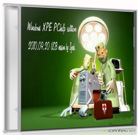 Windows XPE PChelp edition 2010.09.20 USB version by 1grek