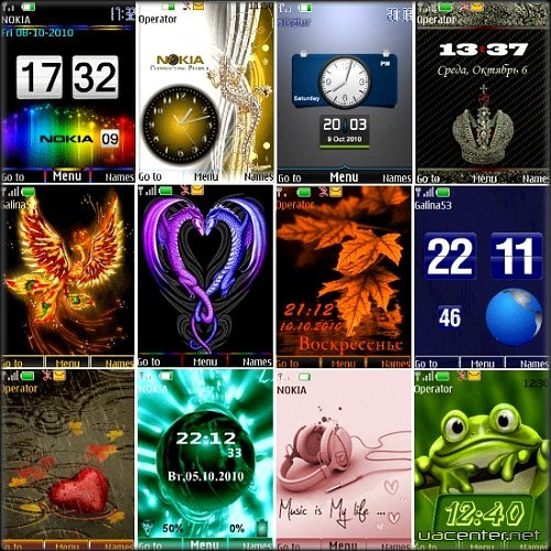 Wonderful theme for Nokia S40 Pack 17