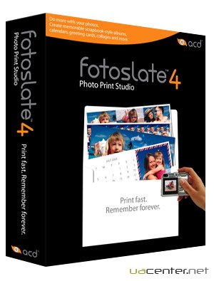 ACDSee FotoSlate 4 Photo Print Studio 4.0 Build 146
