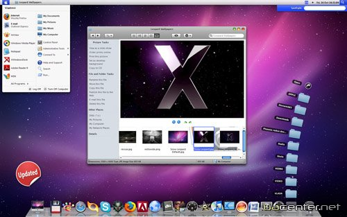 Mac OS X Transformation Pack for Windows 7