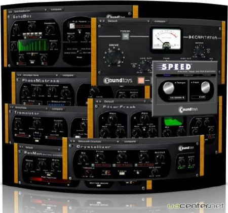 SoundToys Native Effects VST RTAS v4.1.0-AiR