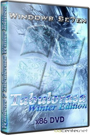 Windows 7 Tabulorasa Winter Edition SP1 x86 RUS/UKR/ENG
