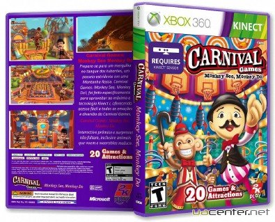 Carnival Games: Monkey See, Monkey Do! (Xbox360/ENG/Kinect)