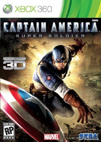 Captain America: Super Soldier (2011/MULTi5/ENG/XBOX360/RF)