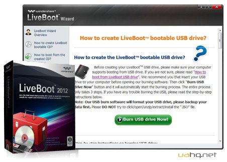 Wondershare LiveBoot 2012 v 7.0.1.0