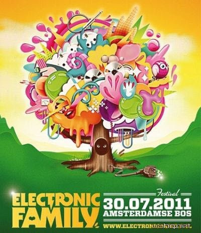 Electronic Family Festival - Amsterdam (30.07.2011)