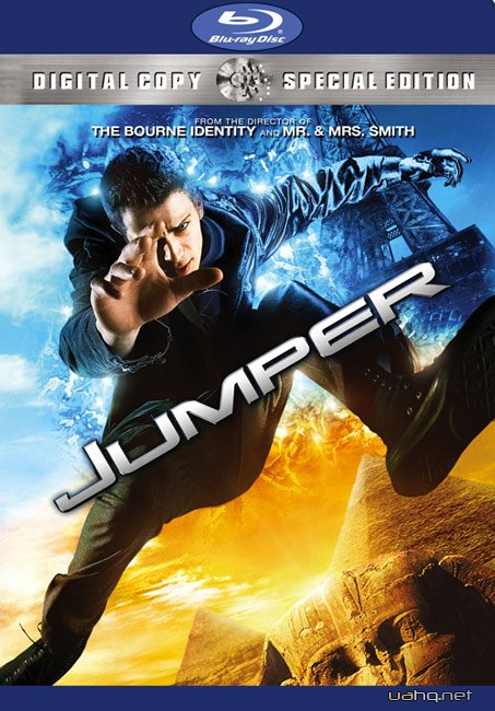 Телепорт / Jumper (2008) Blu-ray + Remux + 1080p + 720p + DVD5 + HDRip