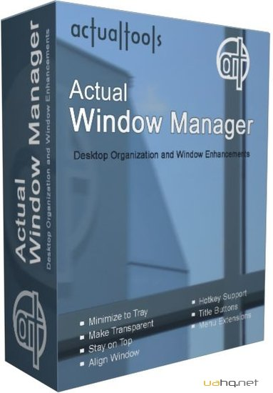 Actual Window Manager v6.6 Final Rus