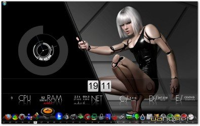 Themes Desktop to Windows 7/Server 2008 by SVLeon