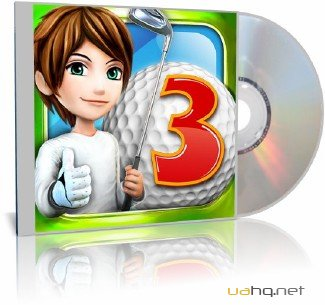 Let's Golf! 3 [v1.0.0 + DLC: 99999coins + 99999 cash, Sports, iOS 3.1.3, RUS]