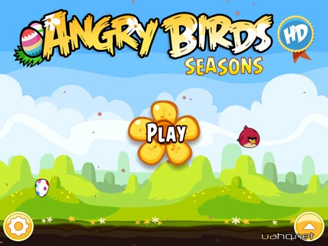 Angry Birds Seasons HD для iPad