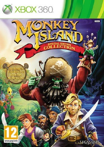 Monkey Island: Special Edition Collection (2011/PAL/ENG/XBOX360)