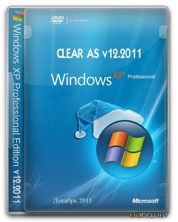 Windows XP Professional SP3 Clear AS 12.2011 (X86/RUS)