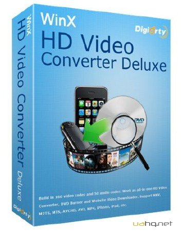 WinX HD Video Converter Deluxe 3.12.1 Build 2011214 x86+x64 (2011/ENG+RUS)