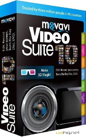 Movavi Video Suite is the ultimate video editing and processing