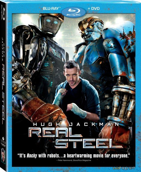 Живая сталь / Real Steel (2011/DVD5/HDRip/2100Mb/1400Mb)