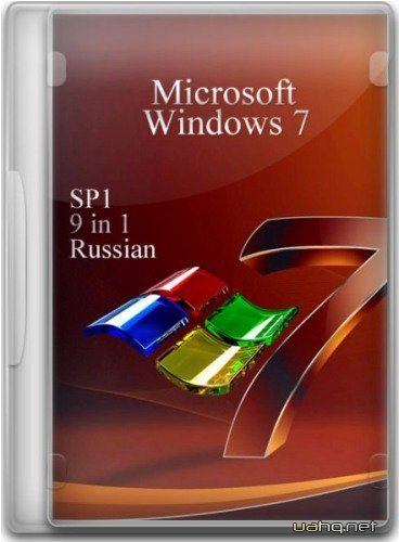 Windows 7 SP1 9 in 1 Russian (x86+x64) 10.01.2012