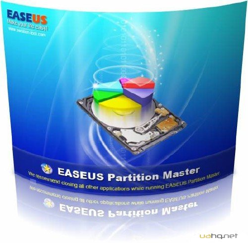 EaseUS Partition Master Professional 9.1.0+ BootCD