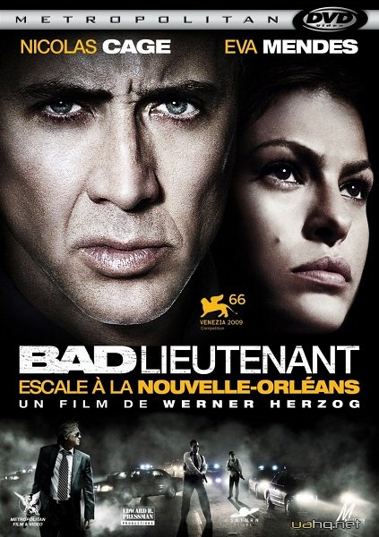 Поганий лейтенант / The Bad Lieutenant: Port of Call - New Orleans (2009) DVDRip | Укр. переклад