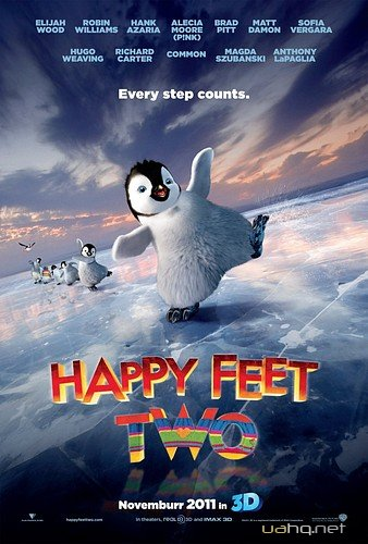 Веселi нiжки 2 / Happy Feet Two (2011) DVDRip | Ukr 700Mb