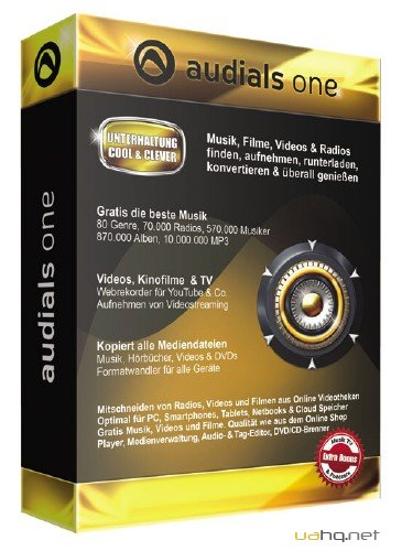 Audials One 9 v 9.1 Build 13600.0(2012) ENG