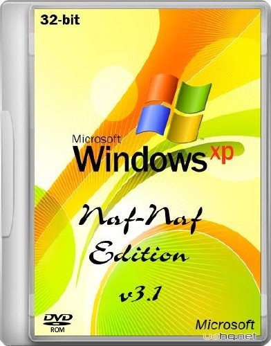 Windows XP PRO SP3 Naf Naf-Edition v.3.1 (2012/RUS)