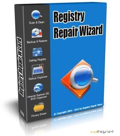 Registry Repair Wizard 2012 Build 6.71