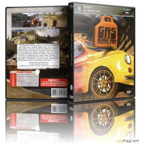 Gas Guzzlers: Combat Carnage (2012/PC/Repack/Eng) від R.G.BoxPack