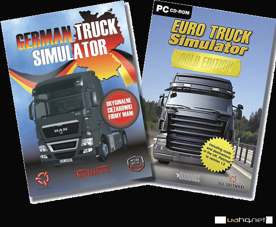 German Truck Simulator and Euro Truck Simulator
