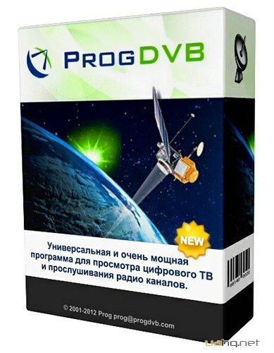 ProgDVB Professional 6.86.1 Final