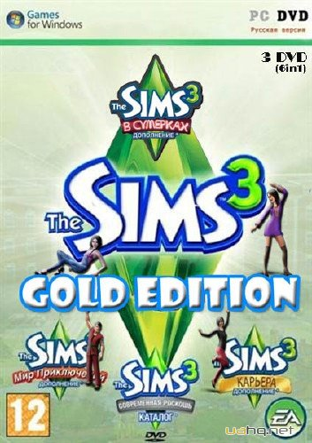 The Sims 3: Gold Edition v.15.0.135.018002 + Store September 2012 (2009-2012/RUS/SIM/Repack by Fenixx)