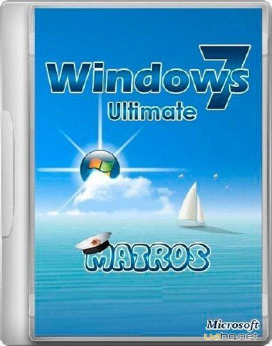 Windows 7 Ultimate x86/x64 Matros v05 Blue (2012/RUS)