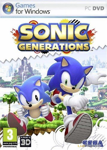 Sonic Generations v1.0 r6 (2011/Rus/Eng/PC) Lossless Repack від R.G. World Games