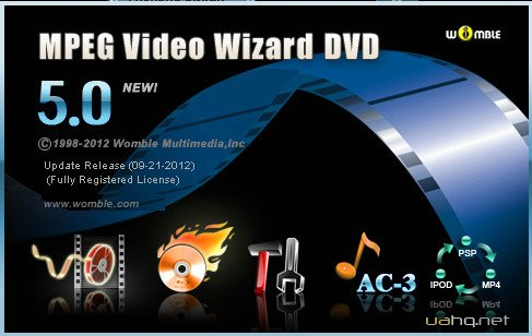 Womble MPEG Video Wizard DVD 5.0.1.105 (09/2012)