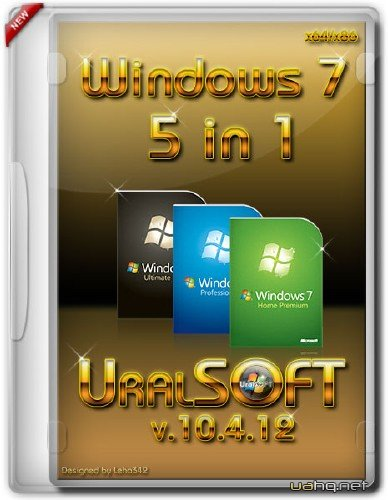 Windows 7x86x64 UralSOFT 5 in 1 v.10.4.12 (2012/RUS) x86/x64