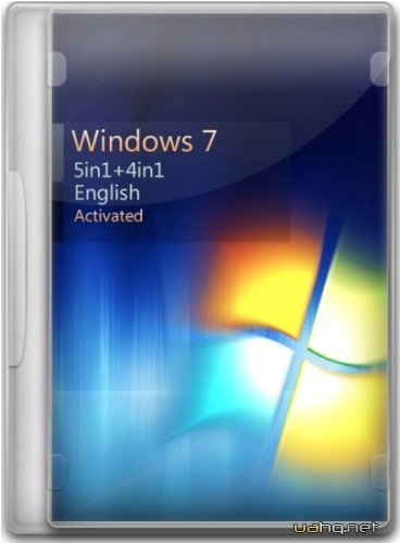 Windows 7 SP1 5in1+4in1 English (x86/x64) 14.10.2012