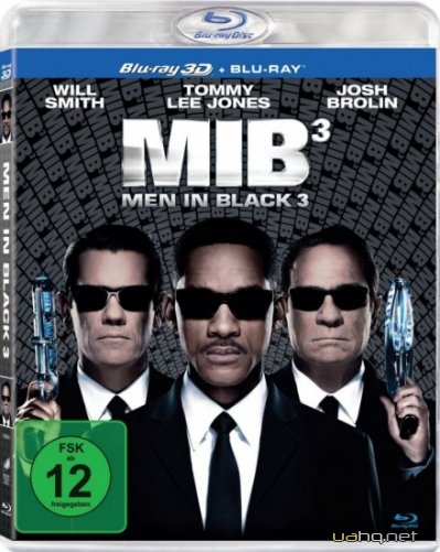 Люди в чорному 3 / Men in Black III / MIB 3 (2012) BDRip | Укр. дубляж
