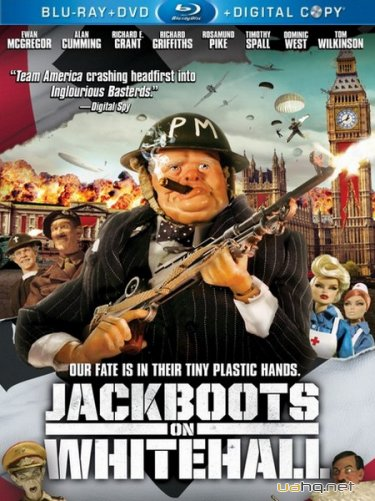 ������ �� ��������� / Jackboots on Whitehall (2010) HDRip / BDRip 720p
