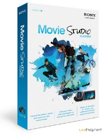 SONY Movie Studio Platinum 12.0.895 / 12.0.896