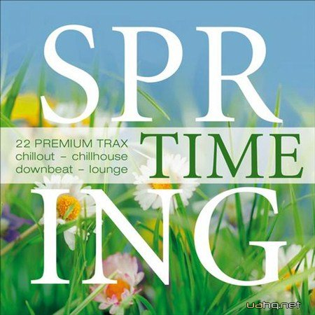 Spring Time - 22 Premium Trax Chillout Chillhouse Downbeat (2013)