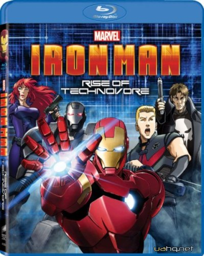 �������� �������: ��������� ��������� / Iron Man: Rise of Technovore (2013) HDRip