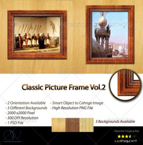 Фотошаблон Picture Frame Vol.1 - GraphicRiver