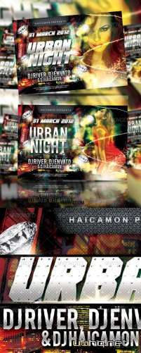 Urban Soul Night Party - GraphicRiver